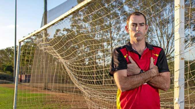 BREAK IN: Gatton Soccer Club President Adam Halstead said the break-in was a
