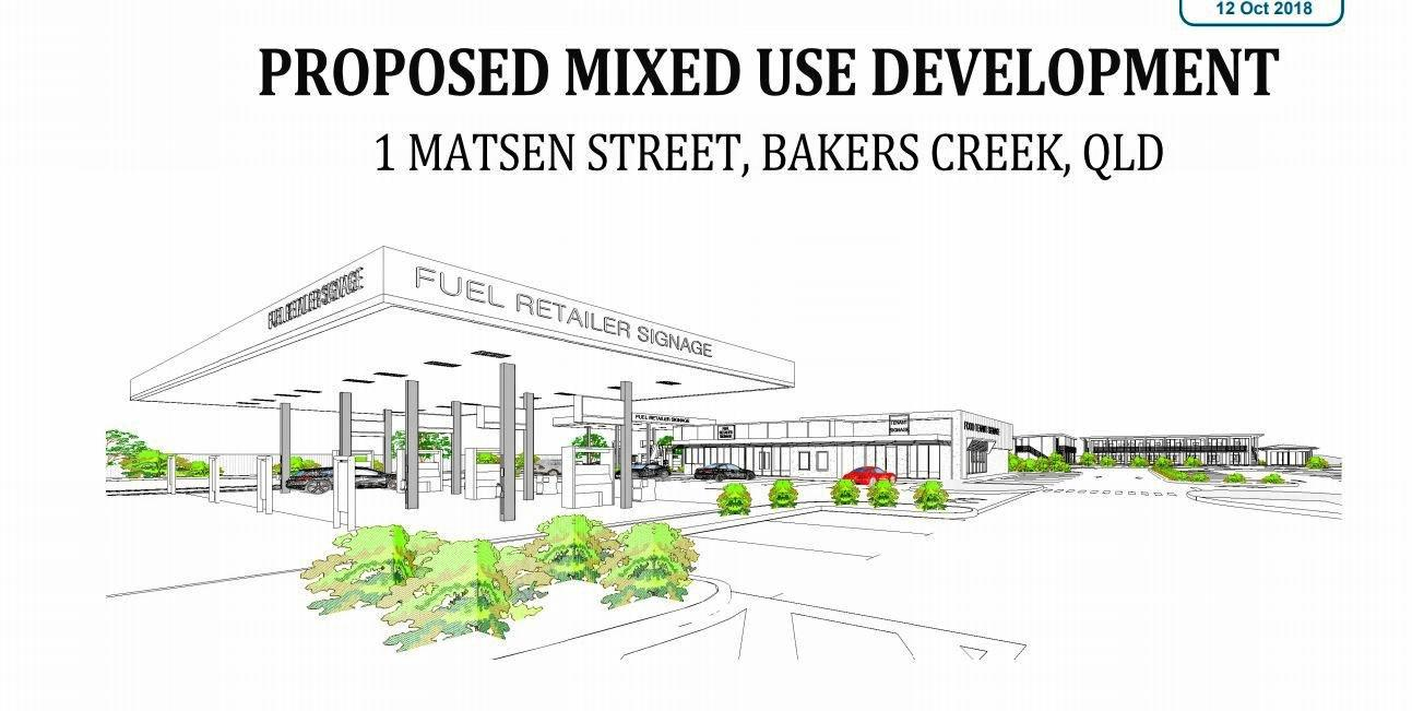 Development plans for Bakers Creek.