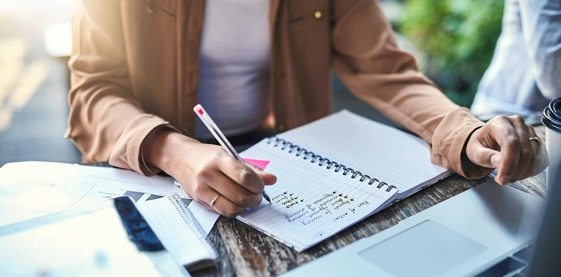 Write down your goals and say why they are valuable and important to give you a better chance of achieving them.