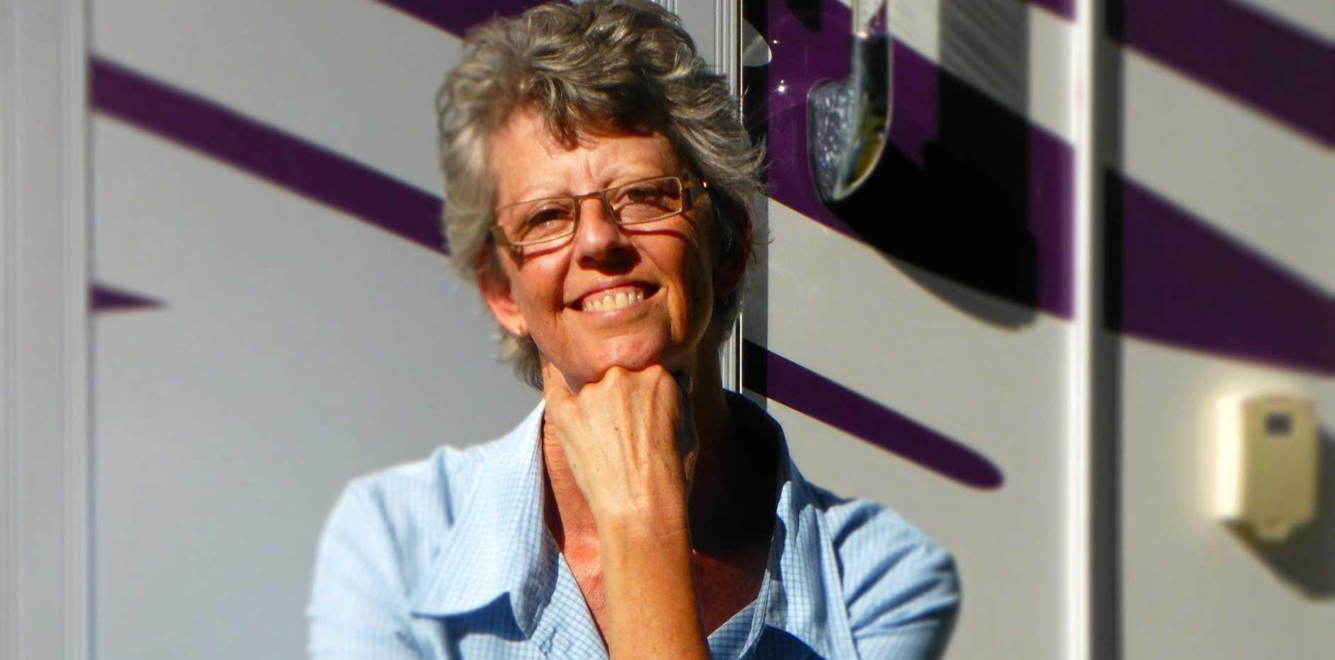 TRAVELLING AUTHOR: Jenn McLeod.