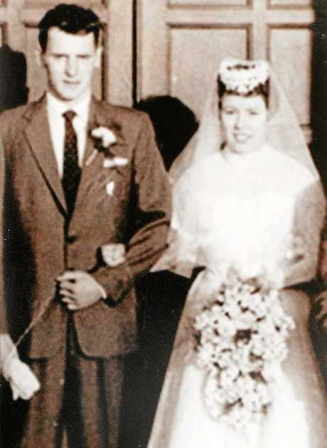 Bob and Lea Stewart celebrated their 60th wedding anniversary on January 10.Photo: Contributed