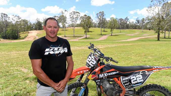 MASSIVE WIN: MX Farm Queensland owner Mark Bishop is excited for the MX Nationals in June.