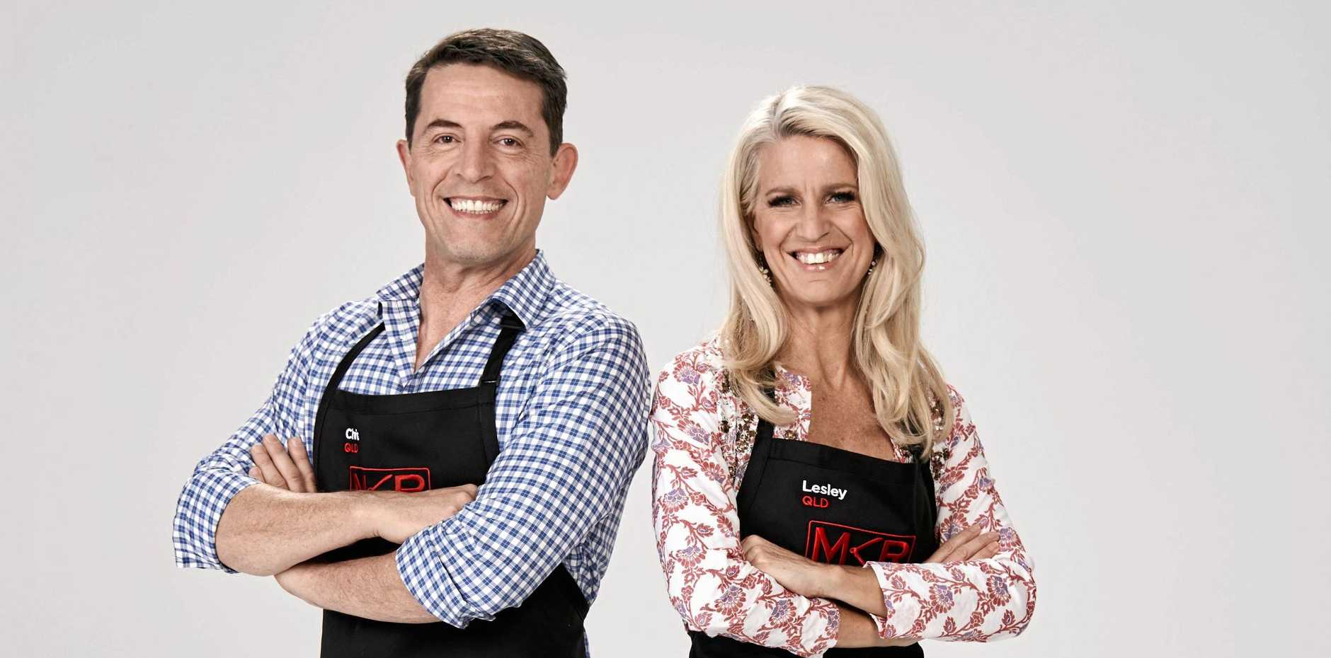 CHECK-IN TIME: Noosa flight attendants and friends Chris and Lesley are competing on the 10th season of My Kitchen Rules.