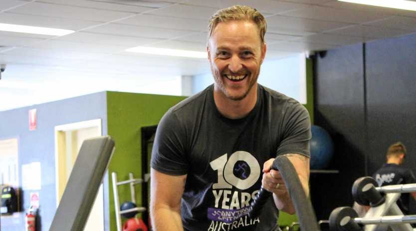 STAYING STRONG: Anytime Fitness Hervey Bay manager Mark Amphlett says the key to reaching your health goals was making short-term goals.