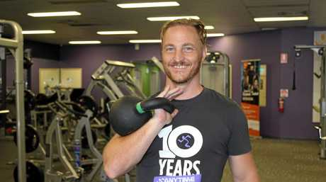 Anytime Fitness Hervey Bay manager Mark Amphlett says the key to reaching your health goals was making short-term goals.