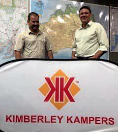 New owners of Kimberley Kampers, James Cockburn and Brett McLaren.