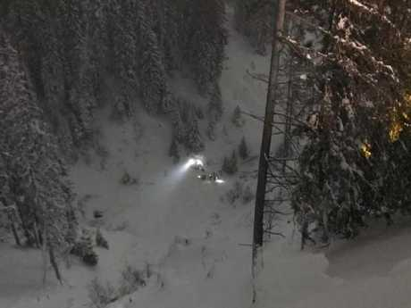 An Australian teenager died during a skiing tragedy in Austria. Picture: Bergrettung St.Anton am Arlberg