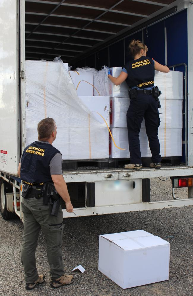 Officers had the men under surveillance on Thursday morning when they picked up the rental truck.