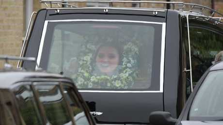 The funeral of Grace Millane at Brentwood Cathedral, Essex. Picture: Martin Dalton/REX/Shutterstock