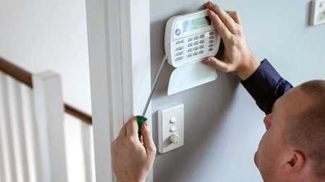 A home alarm system is one of the most effective deterrents.