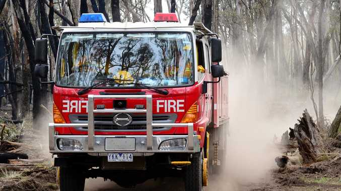A man has died in a shed fire in Ferntree Gully. Picture:  Zoe Phillips
