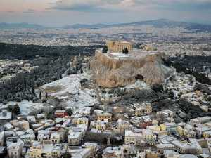 Europe shivers as Greece temps plunge to -23C