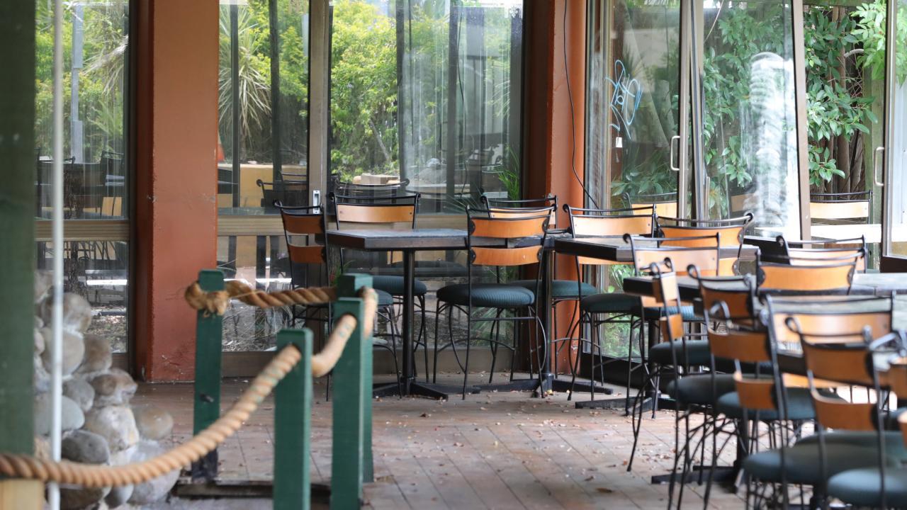 Inside the restaurant area. Picture Glenn Hampson