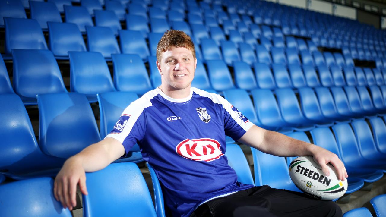 Dylan Napa joined the Bulldogs during the off-season after winning the 2018 NRl grand final with the Roosters. Picture: Tim Hunter