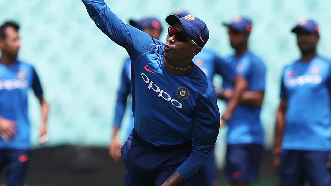 Hardik Pandya is a star of the Indian ODI team. Picture: Brett Costello