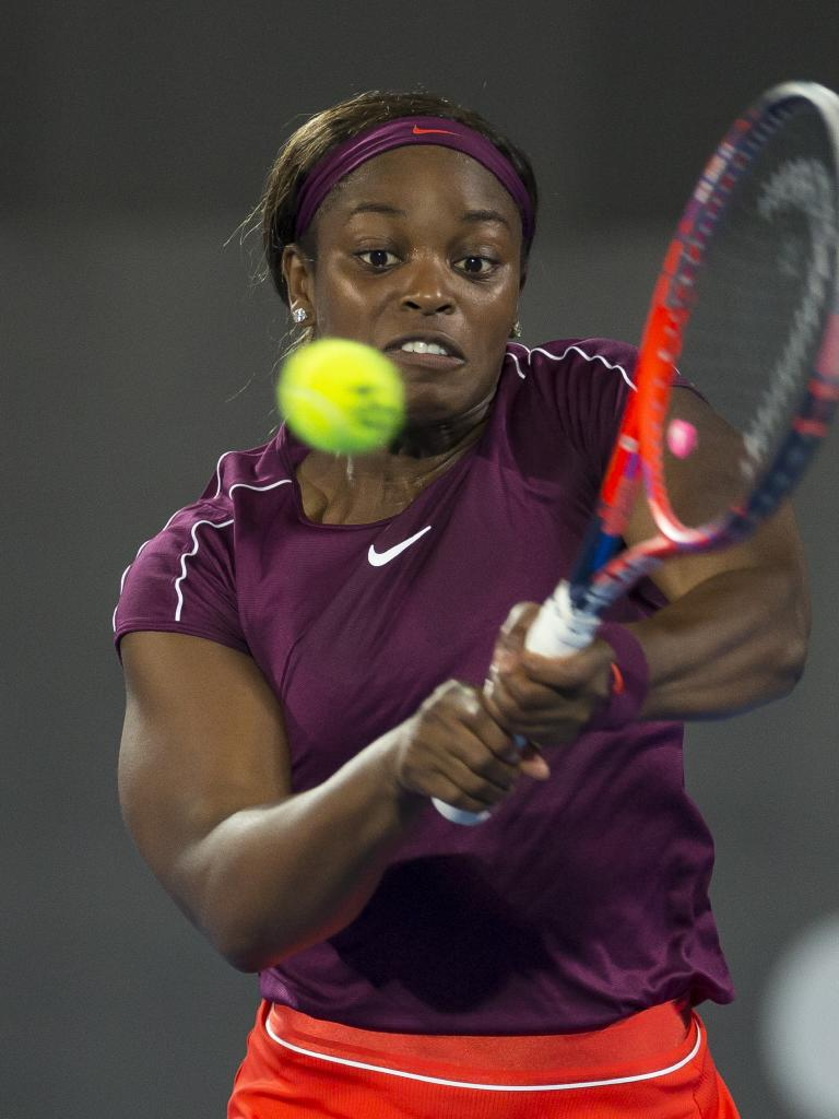 Sloane Stephens. Picture: AAP