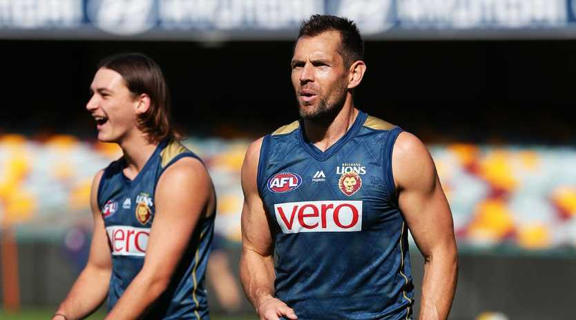 Luke Hodge will be happy to take a back seat for the Lions in 2019. Picture: Claudia Baxter