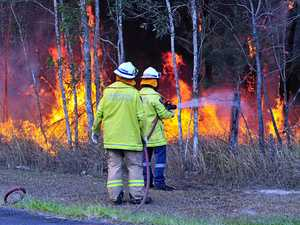 Face masks will roll out for Noosa's front-line firefighters