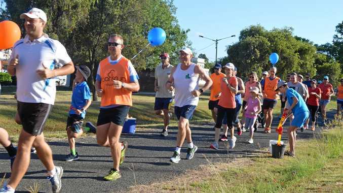 HAPPY BIRTHDAY: 90 runners took part in Wondai Parkrun's second birthday celebration.