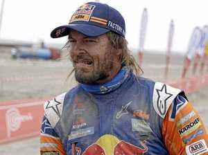 Aussie motorcyclist Price makes ground on Dakar Rally leader