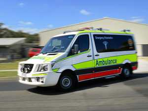 Two injured in two-motorbike crash