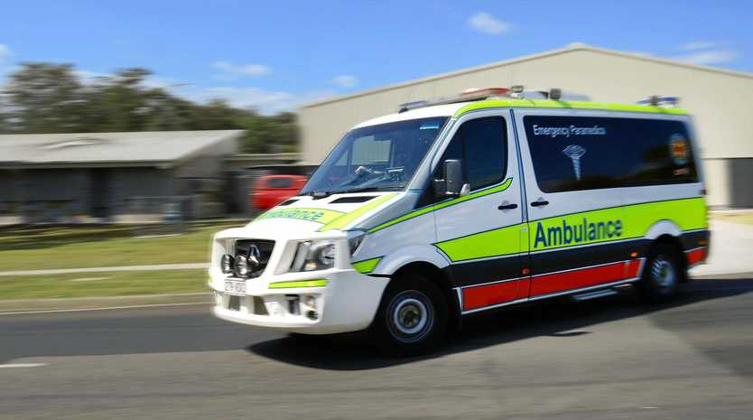 CRASH: Two men have been injured in a two-motorbike crash on the Moonie Highway.