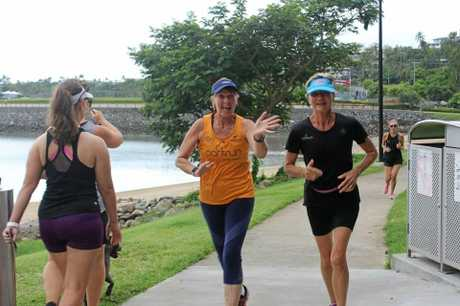 Airlie Beach parkrunners started the weekend right, with a big smile and a high-five.