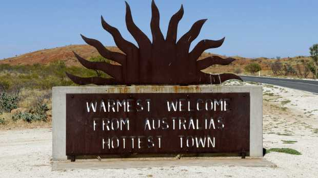 Welcome to the hottest town in Australia, Marble Bar in the Pilbara, Western Australia.