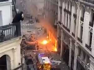 Massive explosion rocks Paris