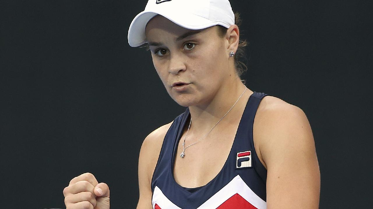 Ash Barty will feature in the first night session on Maragret Court Arena.  Picture: AP