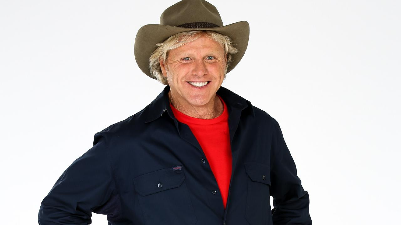 Dermott Brereton he's headed for the jungle. But only for the right price. Picture: Channel 10.