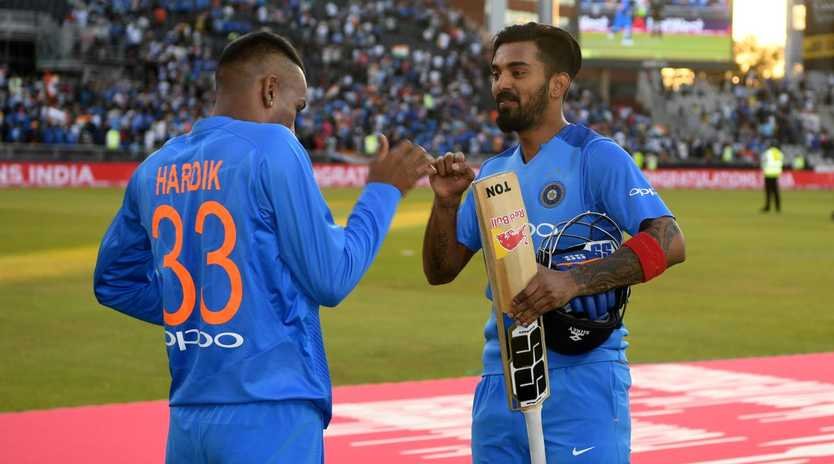 KL Rahul and Hardik Pandya will be having a bit of a break. Picture: Getty Images