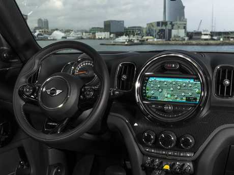 Countryman cabin: Typical Mini styling but reasonable comfort for a five-seater SUV
