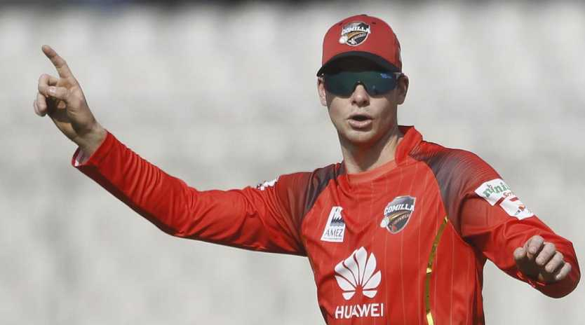 Steve Smith may be forced to put his comeback on hold. Picture: STR/AFP