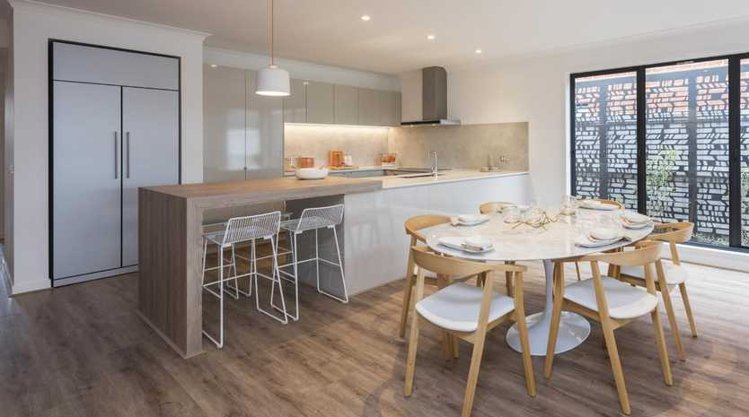 The Marlo 25 display home by Henley in Clyde North. Pictures: Chris Groenhout