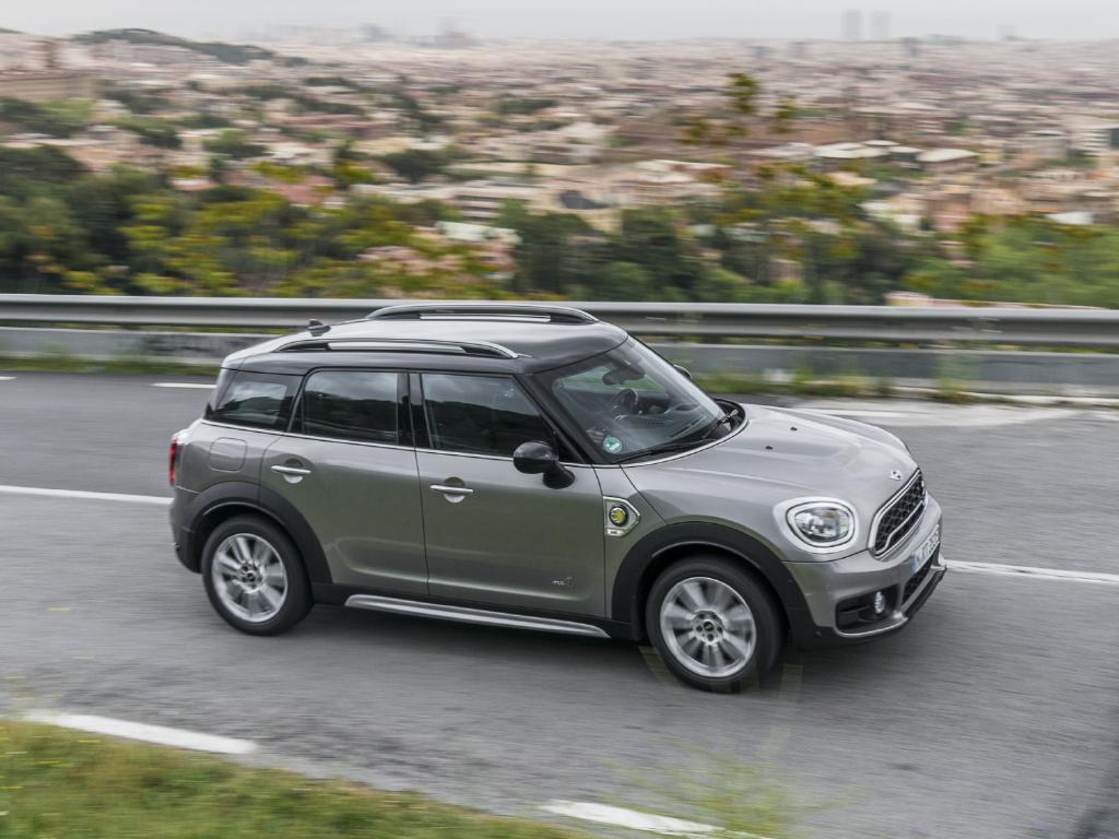 It's quick: Mini Cooper S E Countryman All4, due here soon at about $60K