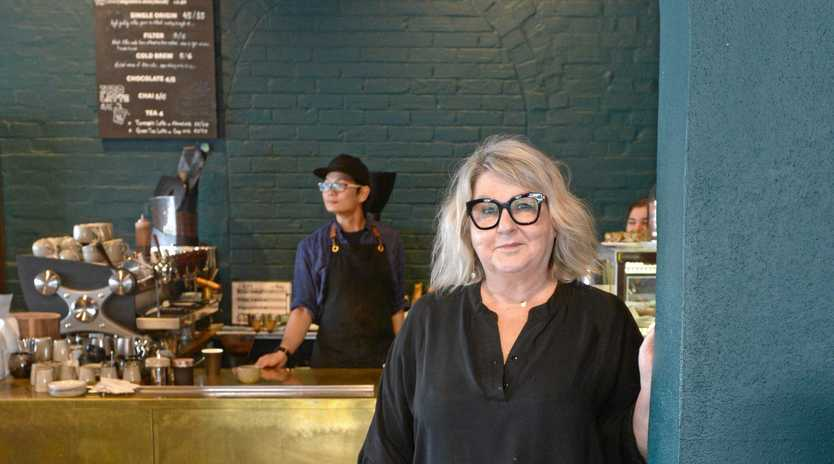 NEW LIFE: Carol Dingle, co-owner of Dingles Cafe and Bar on William St Rockhampton.