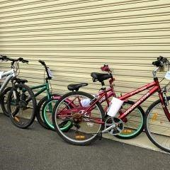 MISSING ITEMS: There are six bikes without owners that were found by police at the Bunaberg police station.