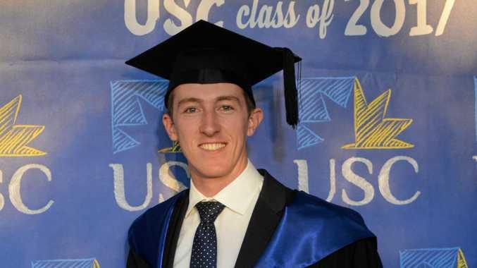 JOB READY: Harry McDonald got a job just months after graduating from USC.