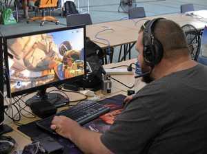 Gamers go at it during 12-hour marathon