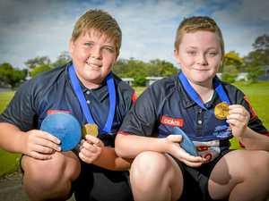 WATCH: Gladstone Little Athletics duo beat best from SEQ