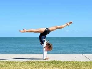 Piper, 8, among Gymnastics Queensland's elite program