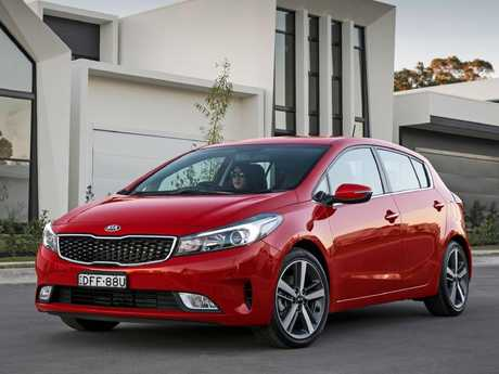 Kia Cerato: SLi grade with alloy wheels