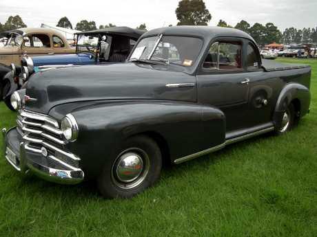 "… and 1947 Chevrolet ""Stylemaster"" passenger ute"