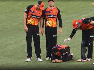 Controversial moment rocks Big Bash
