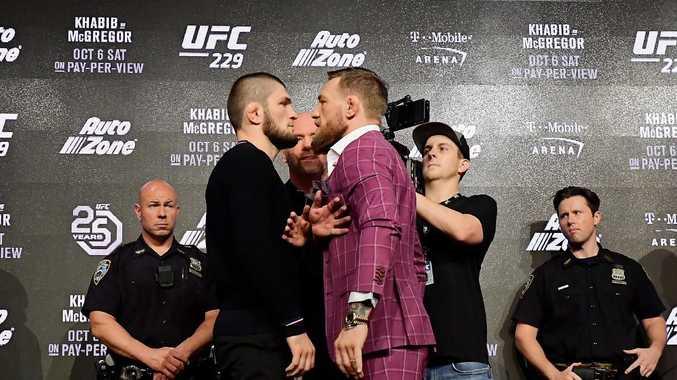 There is no love lost between Conor McGregor and Khabib Nurmagomedov.