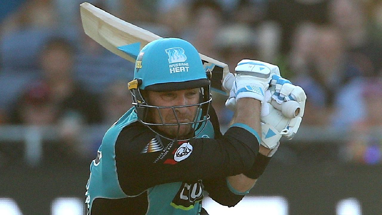 Brendon McCullum scored 50 against the Renegades. Picture: AAP