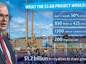 $3.6b plan ready to cook with gas