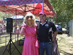'Miss Piggy' from Iluka Woombah Rotary Club and chief