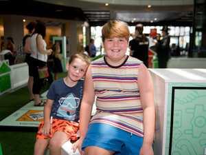 Wyatt Baker, 4, with his older brother Brayden, 10
